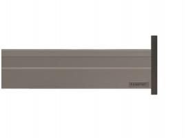 Alphabox Frenli Mandallı 400 mm Takım Gri 18mm