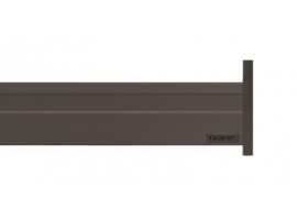 Alphabox Frenli Mandallı 400 mm Takım Antrasit 18mm