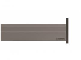 Alphabox Frenli Mandallı 500 mm Takım Gri 18mm