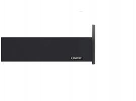 Flowbox Yavaşlatıcılı 106/18 350 mm Antrasit